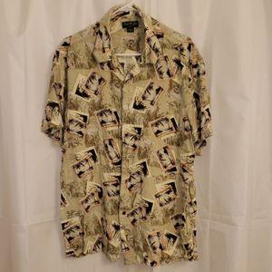 David Taylor Collection Hawaiian style shirt XL